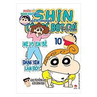Shin Cậu Bé Bút Chì - Phiên Bản Hoạt Hình Màu: Misae Đại Chiến Himawari - Tập 10 (Tái Bản)