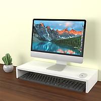 Kệ nâng màn hình máy tính 1 tầng lắp ghép MS 07