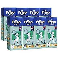 2 Lốc 4 Hộp Sữa Bột Pha Sẵn Friso Gold Rtd Vani (2 x 4 x 180ml)