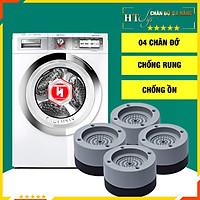 Bộ 4 đế chống rung máy giặt-HT SYS - Giao màu ngẫu nhiên