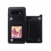 Bao Da Dành Cho Samsung Galaxy Note 10 Kiêm Ví Đựng Tiền, Card