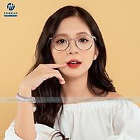 Gọng kính cận nữ hàng cao cấp KÍNH MẮT THIÊN HÀ chất liệu nhựa dẻo nhẹ, càng metal chống gỉ,sx Hàn Quốc JOLIE JL001