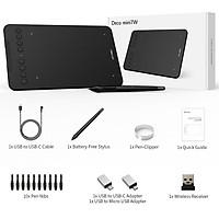 Bảng vẽ điện tử XP-PEN DECO MINI7W (Android Wireless, Hỗ trợ cảm ứng nghiêng) - Hàng chính hãng