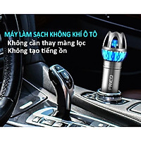 Máy Lọc Không Khí Ô tô ion âm FRiEQ khử mùi hôi và diệt khuẩn, làm sạch không khí, dùng cho xe hơi gia đình - Hàng chính hãng