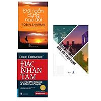 Conbo 3 Cuốn Sách Kỹ Năng Sống Nhất Định Phải Đọc: Sống Thực Tế Giữa Đời Thực Dụng + Đắc Nhân Tâm (Khổ Lớn) + Đời Ngắn Đừng Ngủ Dài (Tái Bản)