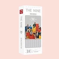 Hộp ảnh bookmark The Nine the9 tập ảnh đánh dấu sách kẹp sách 36 tấm