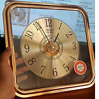 Đồng hồ treo tường hình vuông kim trôi JQ-108 30cm