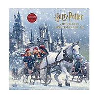 Sách - Harry Potter: A Hogwarts Christmas Pop-Up by Insight Editions - (US Edition, hardcover)