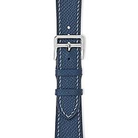 Dây đeo đồng hồ 22-18 MM chính hãng HANHSON SP000720 EPSOM Xanh Navy cho Apple Watch
