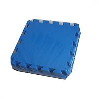 Bộ 9 tấm thảm xốp ghép, màu xanh, chống trượt, KT: 1 tấm 42cm x 42cm, dày 0,8cm( hàng Việt Nam)