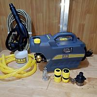 máy xịt rửa xe mini gia đình FORMAN lõi dây đồng có chĩnh áp - công suất 2400w tặng bình tạo bọt tuyết