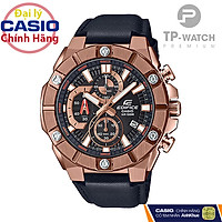 Đồng hồ nam Casio Edifice EFR-569BL-1A chính hãng - Dây da - EFR-569BL-1AVUDF