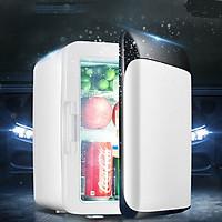 Tủ lạnh mini thiết kế nhỏ gọn, tiện lợi phù hợp với  gia đình nhỏ , ô tô thể tích 10L -hàng chính hãng