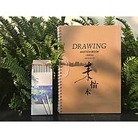 Bộ bút chì màu 12 màu + sổ A3