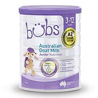 Sữa dê Bubs 800gr tăng cường dinh dưỡng dành cho trẻ 3-12 tuổi - Bubs Australian Goat Milk Junior Nutrition Drink stage 4 (3-12 years)