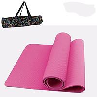 Thảm Tập Yoga TPE Cao Cấp Tặng Kèm Túi Đựng TM1