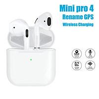 Tai Nghe Bluetooth Không Dây Mini Pro 4 Tws Dùng Cho Điện Thoại Thông Minh