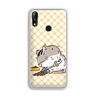 Ốp lưng điện thoại Zenfone Max Pro M2 - 01219 7839 MEO02 - Mèo Ami - Silicone Dẻo - Hàng Chính Hãng