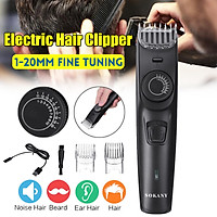 Tông đơ cắt tóc không dây có thể sạc lại Electric Hair Clipper Rechargeable