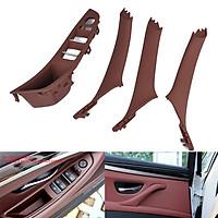 4pcs/set Door Handle Window Switch Panel for BMW 5 Series F10 F18 520 523 525