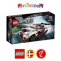 Mô Hình Lắp Ráp LEGO SPEED CHAMPIONS Siêu Xe Nissan GT-R Nismo 76896 ( 298 Chi tiết)