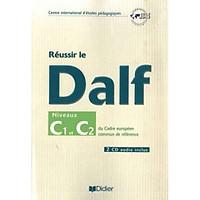 Reussir Le Dalf C1 - C2 - Livre + Cd