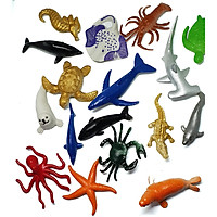 Mô hình nhựa 60 động vật hoang dã và khủng long xinh xắn cho bé yêu