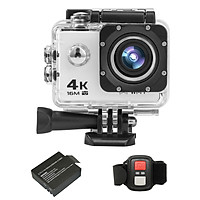 4K / 30FPS Camera hành động thể thao Ultra HD 16MP 2 inch Màn hình hiển thị LCD lớn 170 độ WiFi góc rộng 2.4G Máy quay phim DV điều khiển từ xa không dây