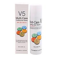 Xịt Chống Nắng Rainbow L'Affair Multi-Care V5 Cooling Sun Spray Spf50+ Pa+++ 180 ml