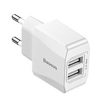 Cóc Sạc nhanh (Apdapter)/ cốc sạc Baseus 2 cổng USB - 2.1A - Sạc đa năng Baseus Mini Dual Charger- Hàng chính hãng
