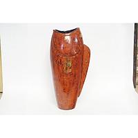 Bình hoa con cá gốm sơn mài Bát Tràng - Lộc bình, Dòng gốm sơn mài hiện đại, đẳng cấp - Gốm trang trí trưng bày cửa hàng, khách sạn, phòng khách - BH018