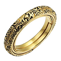 Astronomical Ball Ring Foldable Cosmic Finger Ring Jewelry Unisex 52mm
