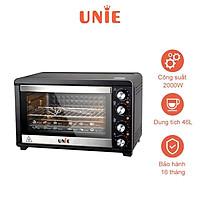 Lò nướng điện đa năng UNIE K4602 2000W, dung tích 46 lít - Hàng chính hãng