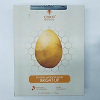 Combo 10 Mặt Nạ Da Sinh Học Dưỡng Trắng Chuyên Sâu COKO NANOCELL Bright Up Mask (23g)