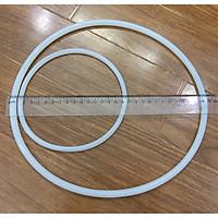 Gioăng nồi áp suất gas có 2 quai cầm ngắn, gioăng tròn đặc