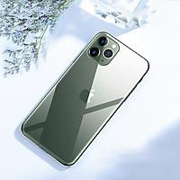 Ốp Lưng Cường Lực Mặt Kính Trong Suốt Cho Các Dòng iPhone 11 - Hàng Chính Hãng CAFELE