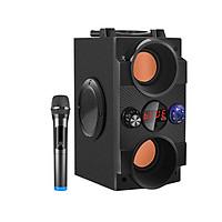 Loa kéo loại nhỏ và Micro hát karaoke hoặc MC bán hàng hội chợ