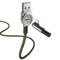 Cáp sạc Baseus Exciting Mobile Game Lightning Cable cho iPhone/ iPad (2.4A, Fast Charging) dây dài 1m thiết kế chơi game - Hàng chính hãng