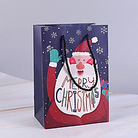 Túi Quà Giáng Sinh Merry Christmas, Túi Đựng Quà Chủ Đề Noel, Giáng Sinh Mẫu Ngẫu Nhiên
