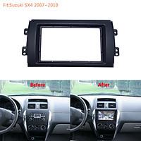 For Suzuki SX4 Audio Refit Frame DVD Navigation Refit Panel Bracket 2 DIN