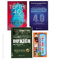 Combo Marketing Du Kích + Marketing 4.0 + Tiếp thị 4.0 - Dịch Chuyển Từ Truyền Thống Sang Công Nghệ Số Tặng Kèm Những Câu Danh Ngôn của Người Nổi Tiếng