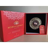 Reyhan Saffron - nhụy hoa nghệ tây cao cấp (hộp 5 gram) tặng chai thủy tinh 500ml