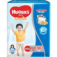 Tã Quần Huggies Dry Pants Jumbo XXL30 (Trên 14Kg) - Gói 30 Miếng