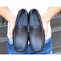 Giày da Thái Lan - giày lười nam, giày da bò thật, giày da công sở TH001