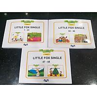 Little Fox Single Stories Level 1 bộ 3c 1-68tr dành cho bé 3-9y - Khơi nguồn đam mê học Tiếng Anh cho bé