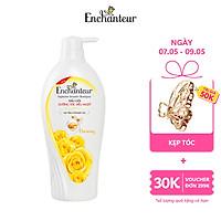 Dầu gội nước hoa Enchanteur Charming nồng nàn duyên dáng dưỡng tóc siêu mượt 650gr