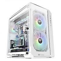 Vỏ case máy tính Thermaltake View 51 Tempered Glass Snow ARGB Edition - Hàng Chính Hãng