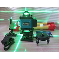 Máy cân bằng tia laser RAKUTEN 555 Máy bắn cốt, máy cân mực, Máy đánh thăng bằng laser 5 tia xanh thế hệ mới 2021