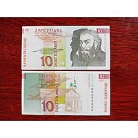 Tiền giấy Slovenia 10 Tolarjev ngày xưa , mới 100%