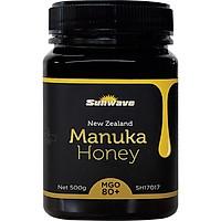 MẬT ONG SUNWAVE MANUKA MGO 80+ NEW ZEALAND 500g- MANUKA HONEY NPA 5+ -